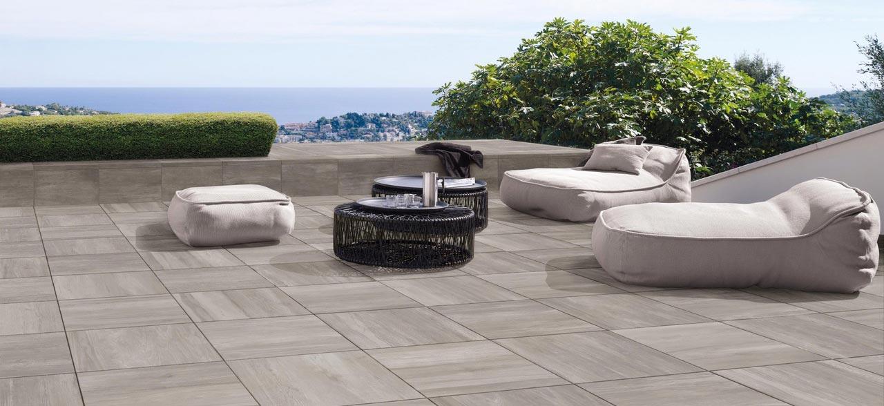 Terrasse En Grès Cérame - Concept Terrasse Sàrl - Yverdon